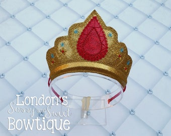 Elena of Avalor Inspired Crown/  Princess Crown/ Mouse Ear Headband/ Photo Props