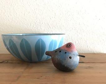 Vintage Pottery Bird Whistle