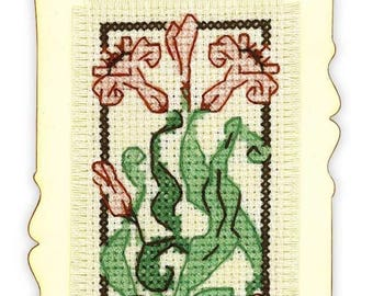 Cross Stitch Kit from RIOLIS 1613AC Bookmark Graceful Lily