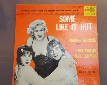 Some Like It Hot Vinyl Album