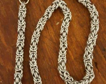 Steel Byzantine Chain