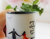 Parisian Romantic Home Accessories, Gift for Both, Wanderlust Mugs, Couples Gift, Custom Cup, Valentines Gift, Anniversary Gift , Paris Gift