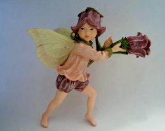 Canterbury Bell Fairy - Flower Fairy - Fairy Garden - Terrarium - Miniature Gardening - Accessories - Cicely Mary Barker Fairy