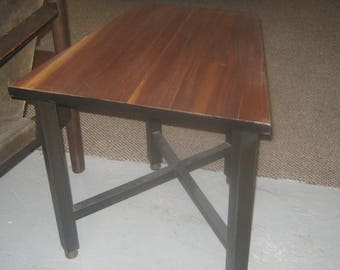 Pair Of Dunbar Wedge Side Tables