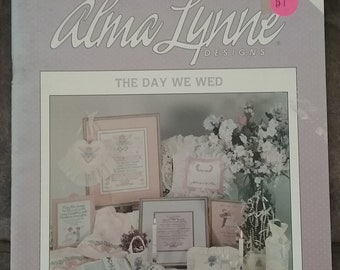The Day We Wed Cross Stitch Book