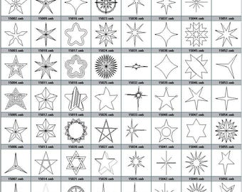 Your star star engraving to choose from pictured