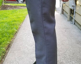 Levi's Grey Poly Slacks