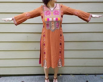 Beautiful Embroidered Tunic Dress
