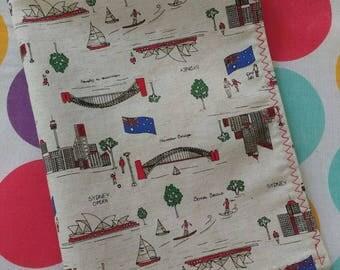 Sydney the Tea Towel - linen tea towel