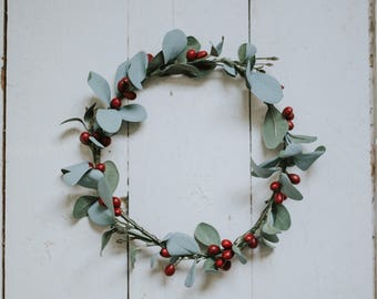 Woodland Sage and Berry Crown