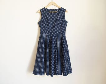Vintage Polka Dots Dress