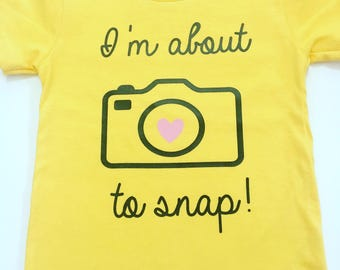 I Am About To Snap Shirts, Shirts For Photographers, Funny Graphic Shirts, About To Snap Tee Shirts, Novelty Tee Shirts, Graphic Tee Shirts