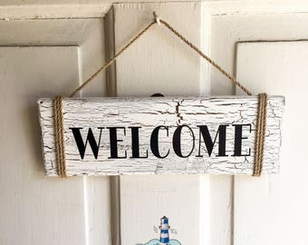 Welcome Sign, Door Sign, Door Hanger
