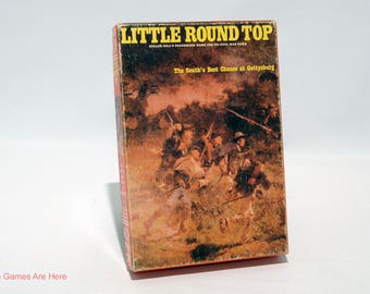 Little Round Top Strategy Game from Avalon Hill 1982 COMPLETE