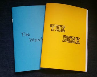 Two zine pack: The Wreckage + The Berk