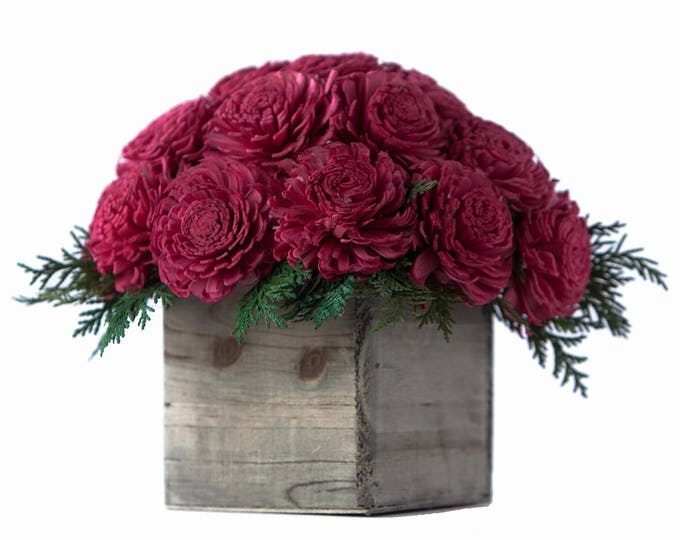 Holiday Joy Flower Arrangement - Ships FREE