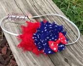 Stand Beside Her Headband, Patriotic Headband, Red White Blue Headband, 4th of July Headband