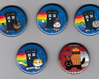 1.75in Nyan Doctor Button