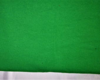 Flannel Fabric, Solid Kelly or Christmas Green, 100% Cotton,...Quilts, Rag Quilts, Clothing, Crafts