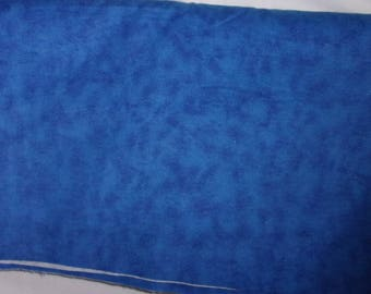 Flannel Fabric, Marbled Royal Blue, 100% Cotton,...Quilts, Rag Quilts, Clothing, Crafts