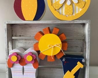 Wooden Summer Decorations