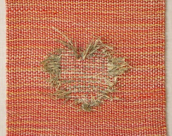 Buy Me Love - hand woven tapestry