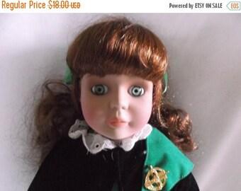 Christmas Sale Alberon London- Jeannie Irish Dancer Porcelain Doll