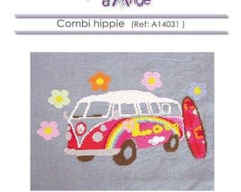 Hippie Combi pattern cross stitch pattern
