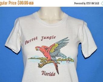 ON SALE 60s Parrot Jungle Florida t-shirt Youth Medium