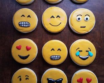 Emogi Sugar Cookies