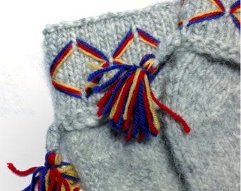 Cute genuine Lovikka socks for children. Very well made. According to swedish tradition. Handcraft. Size children 5-8 years