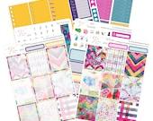 Planner Sticker Kit / Planner Sticker / Erin Condren Planner Stickers / Weekly Sticker Kit  / WK56