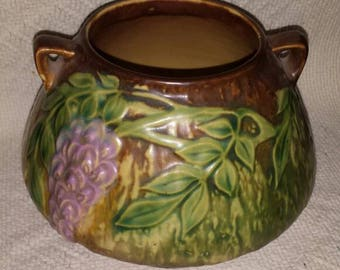 Vintage Roseville Wisteria Vase