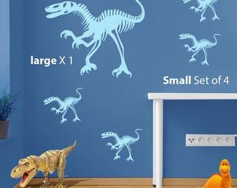 Dinosaur Raptor Decal A97
