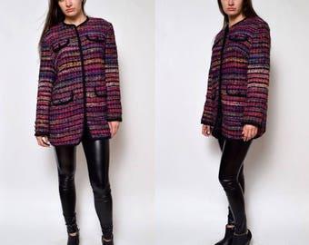 Vintage 90s' Long Colorful Jacket