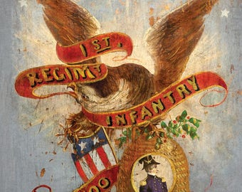 Nauvoo Legion Drum Banner