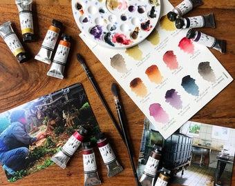 Lutea Handmade Organic Watercolors