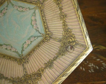Tindeco Jewelry Box Home Decor Decorator Box Romantic Jewelry Box Treasure Box Vanity Decor Box Hexagonal Box Dresser Box Mother's Day Gift