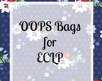 Weekend Sale Oops Bags for Erin Condren Vertical Layout