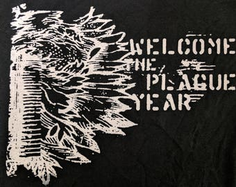 Welcome To the Plague Year sweatshirt (hardcore, screamo band)
