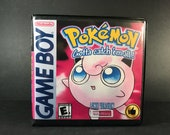 Pokemon Pink Version ROM Hack Fan Made Game Gameboy GB Custom Case