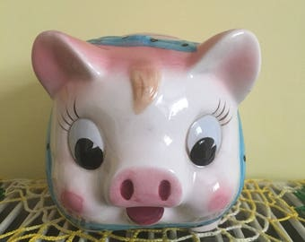 Vintage Japanese Pig Money Bank