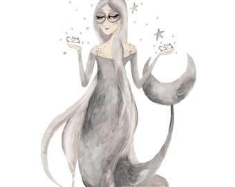 The Moon Mermaid