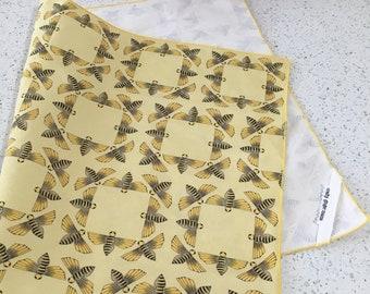 Bee Print Tea Towel