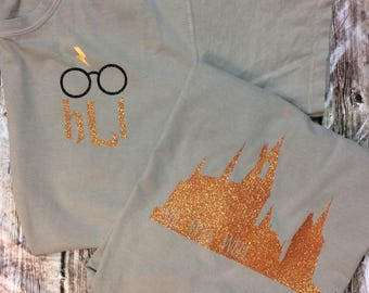 Harry Potter Monogram Tee - Universal Studios - Comfort Color