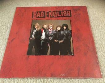 Sealed Bad English 1989 Vinyl Record LP album