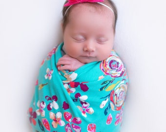 NEW* Knit Swaddle Blankets - CALISIE