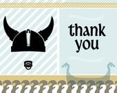 Viking Thank You Card Digital File