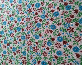 Vintage Flower Cotton 115 cm x 80 cm
