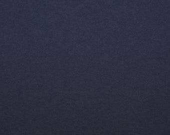 Sweatstoff 'FRENCH TERRY' navy melange - 0, 5m